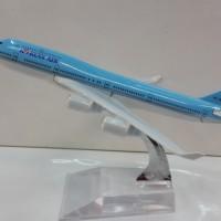 KOREAN / KOREA AIR Pesawat Terbang Full Diecast ( PT021 )