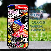 Custom Case All Brand DC,Suprme,Vans,Diamond for Iphone 4/5/s, Samsung Galaxy, HTC, Blackberry Cover