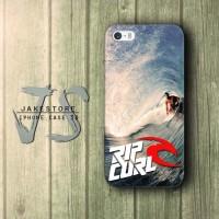 RipCurl Surfing Logo iPhone Case , Casing HP, Casing iPhone , tersedia Type 4 4s 5 5s 5c