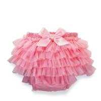 Mud Pie Chiffon Bloomer Baby Pink