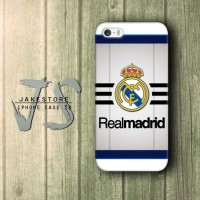 Real Madrid FC Logo iPhone Case CR7 , Casing HP, Casing iPhone , tersedia Type 4 4s 5 5s 5c