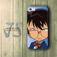 Detective Conan Stupid Face iPhone Case , Casing HP, Casing iPhone , tersedia Type 4 4s 5 5s 5c
