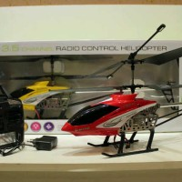 HARBOR 4 FALL RESIST 3.5 CHANNEL RC HELI with GYRO
