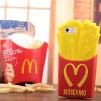 Moschino Fries Silikon Case Iphone | SAMSUNG