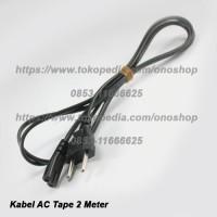Kabel AC Tape 2 Meter ( Angka 8 )
