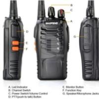Radio HT Handy Talkie Walkie Talkie Baofeng BF-888S UHF Handi Talki Talky GROSIR