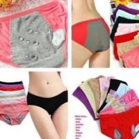 Celana Dalam Anti Tembus Bocor Khusus Menstruasi / Menstrual Penties / CD Mens Utk Haid Datang Bulan