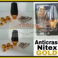 Anticrash / Exhaust slider / Pelindung Knalpot Nitex Gold