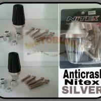 Anticrash / Exhaust slider / Pelindung Knalpot Nitex Silver