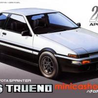 FUJIMI ID-57 TOYOTA AE86 TRUENO 1600GT APEX 2door