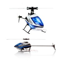WL Toys V977 6 Channel 2.4GHz Brushless Motor 3D/6G Flybarless RC Helicopter with Gyro