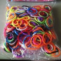Refill Rainbow Loom isi 600pcs