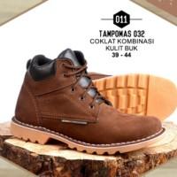 Sepatu Outdoor Warna Coklat Kombinasi - tampomas032