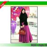 Gamis Wanita Nayla Pink Hijab Set