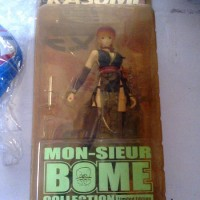 Action Figure Monsieur Bome Collection Kasumi Dead or Alive Limited Edition Black Ver.