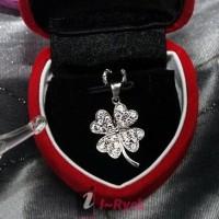 Jual Fairy Box Korea WG 001 - Liontin Perak dilapis Emas Putih 100% Original dan Bergaransi