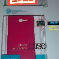 Nillkin Frosted Super Shield for Asus ZenFone 4 v.1600 mAh + Clear Screen Protector > 5 Warna Lengkap
