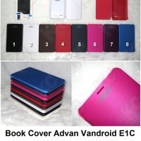 Book Cover Advan Vandroid E1C Case Casing Sarung Flip Hardcase
