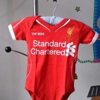 Jumper Bayi Bola - Liverpool Home