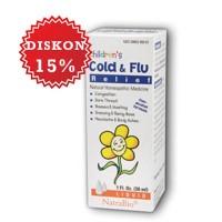 NATRABIO CHILDREN COLD & FLU (CHILDREN C&F) | Obat Batuk, Pilek, Flu, Pernapasan Anak