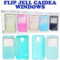 Flip jelly caidea windows zenfone4 zenfone6 oppo R1 find5 mini joy yoyo iphone4 iphone5 samsung core s5