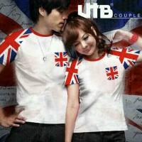 COUPLE ENGLAND FLAG