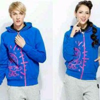 COUPLE JACKET GET ANGRY BLUE