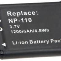 Baterai Battery Batere Kamera Casio NP-110   Exilim EX-FC200S EX-Z3000 EX-ZR10 EX-ZR15 EX-ZR20 Zoom EX-Z2000 Zoom EX-Z2300