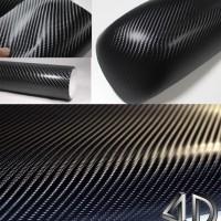 Stiker Carbon Fiber 4D