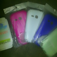 Silikon Softshell Kondom Sarung HP Samsung Young Duos S6310 / S6312 / S6313 softcase soft case
