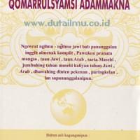 Kitab Primbon Qomarrulsyamsi Adammakna