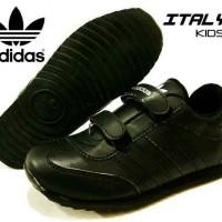 sepatu anak kids full black