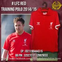 Liverpool Polo shirt - LFC Red Polo Training 2014/15