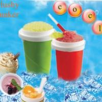squeezy freezy instant slushy ice maker es botol sedotan sendok freeze kulkas slush slushies freezer drink minum dingin