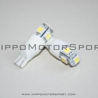 harga Lampu LED T10 5 titik hijau kedip / strobo GRADE 'A' (senja / kota, plat nomor, speedometer dll) Tokopedia.com