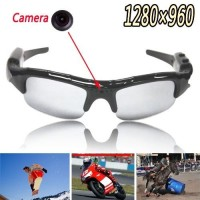 1280x960 Sunglasses Spy Hidden Camera - Mobile Eyewear Recorder - Photo + Video + Record