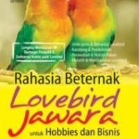 Rahasia Beternak Lovebird Jawara untuk Hobbies dan Bisnis -Penerbit Andi