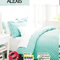 Seprei Star Dottie Alexis Ukuran Double no 1 & 2