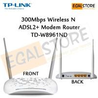 300Mbps Wireless N ADSL2+ Modem (Speedy) Router TP-Link TD-W8961ND