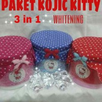 PAKET KOJIC KITTY 3 in 1 EDITION sabun soap scrub lotion whitening bleaching