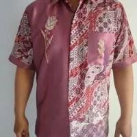 Baju Batik Kerawang Khas Gorontalo Warna Rose