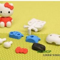 ATK Stationery Penghapus / Eraser Full Body Karakter Lucu Hello Kitty / HK Set