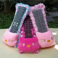 Sarung remote / Cover Remote TV Hello Kitty