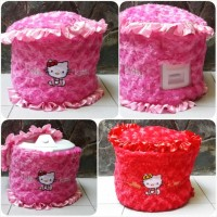 Cover Rice Cooker Hello Kitty / Sarung Magic Com Kitty