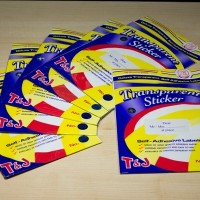 JUAL LABEL TRANSPARAN TOM AND JERRY 103