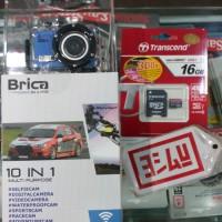 Brica B-Pro5 the 10in1 Action Camcorder + Bonus SD Card 16GB Class 10