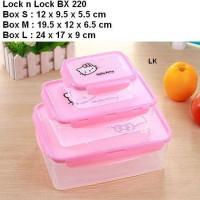Kotak kue Toples Lock & Lock Hello Kitty