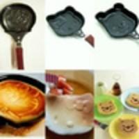teflon / frying pan mini / wajan anti lengket mini diameter 12 cm karakter pooh doraemon hello kitty barang unik dapur karakter