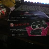 Dinamo Mesin Jahit (Sewing Machine Motor & Foot Controller) Singer