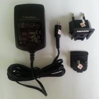 Travel Charger Mini USB Blackberry (BB) Original Model Gemini / Javelin / Non USB / Batok Original 100%